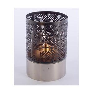 Metalowy świecznik Beata, 20 cm