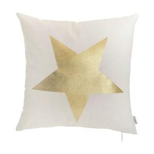 Biała poszewka na poduszkę Apolena Star, 45x45cm