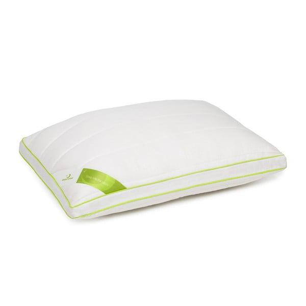 Biała poduszka z bambusowymi włóknami Nature Green Future, 45x65cm