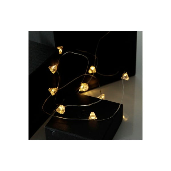 Girlanda świetlna LED Best Season String Diamond, 12 lampek