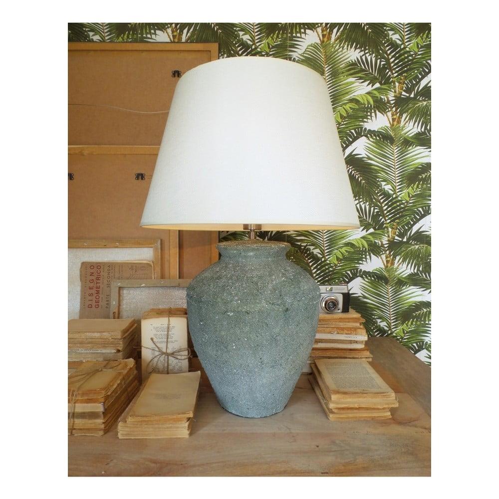 Ceramiczna Lampa Stołowa Orchidea Milano Saint Tropes Greenish Grey