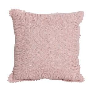 Różowa poszewka na poduszkę Opjet Jules, 40x40 cm