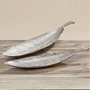 Zestaw 2 misek Leaf, 75 i 95 cm