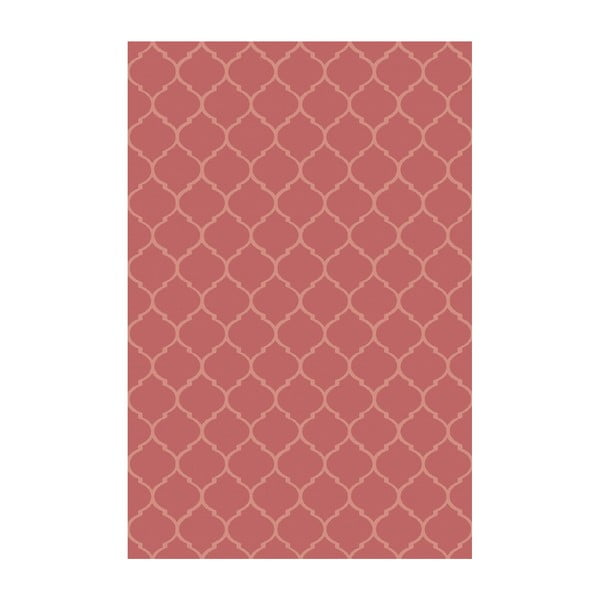 Dywan winylowy Reticular Rojo, 200x300 cm