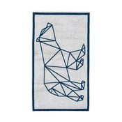 Niebieski ręcznik kąpielowy Hawke&Thorn Ice Bear, 90x160 cm