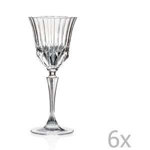 Zestaw 6 kieliszków do wina RCR Cristalleria Italiana Serafina