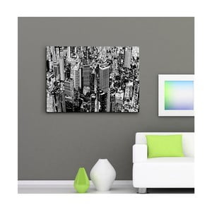"""Obraz na płótnie """"Manhattan z lotu ptaka"""", 50x70 cm"""