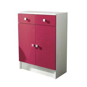 Różowa szafka łazienkowa 13Casa Click