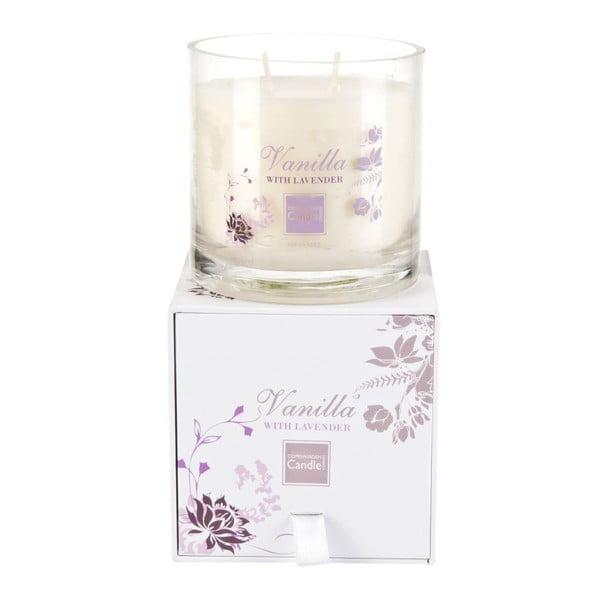 Świeczka zapachowa Vanilla&Levender Medium, czas palenia 50 godzin