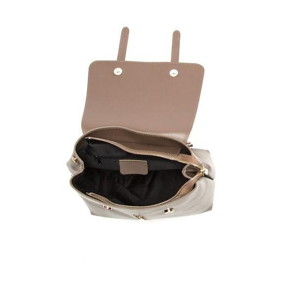Brązowy skórzany plecak Sofia Cardoni Noemi Fango