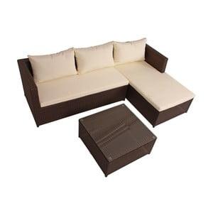 Sofa ogrodowa ze stolikiem ADDU Camden