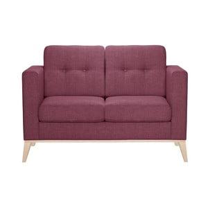 Różowa sofa dwuosobowa Stella Cadente Recife