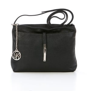 Skórzana torebka Francesco, czarna