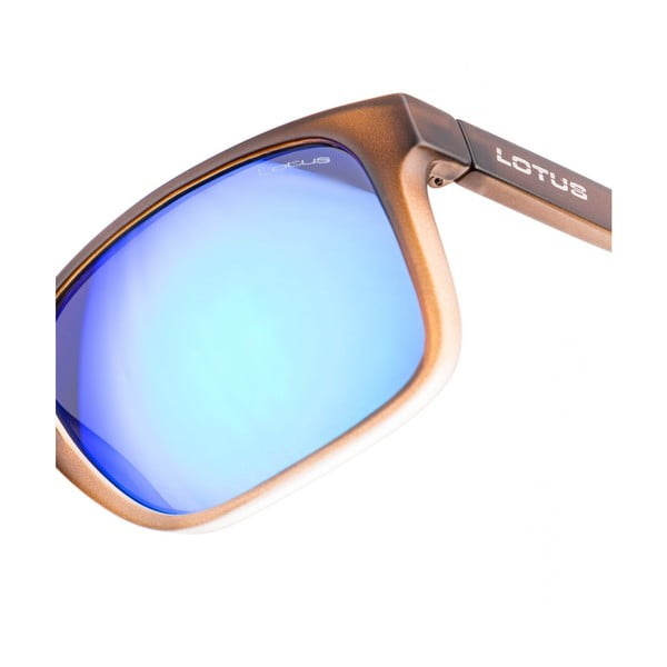 Męskie okulary przeciwsłoneczne Lotus L758604 Matt Brown