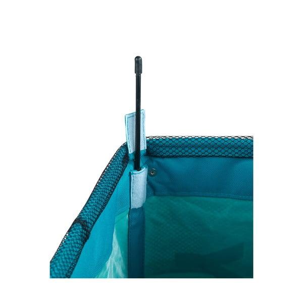 Niebieski kosz na pranie Wenko Como