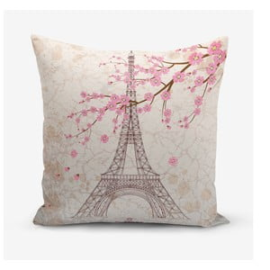 Poszewka na poduszkę z domieszką bawełny Minimalist Cushion Covers Eiffel, 45x45 cm