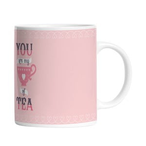 Ceramiczny kubek My Cup of Tea, 330 ml