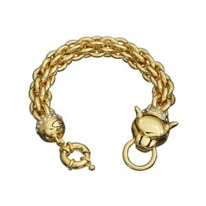 Bransoletka GUESS Gold Cat