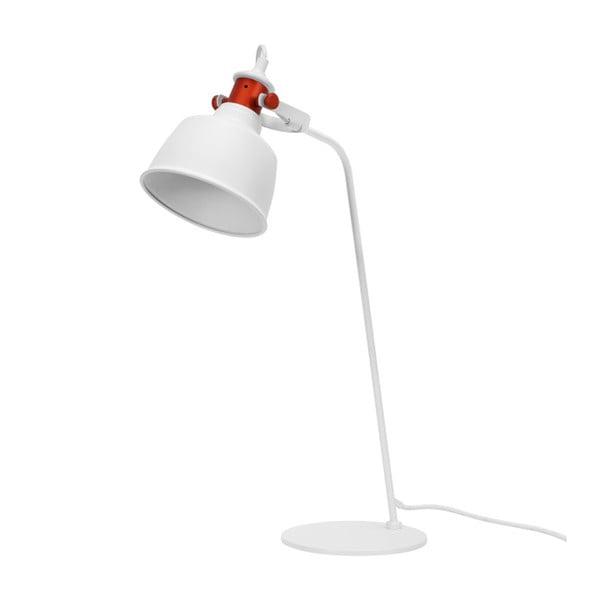 Biała lampa stołowa Garageeight Etel