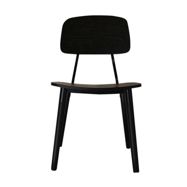 Krzesło Frances Retro Black