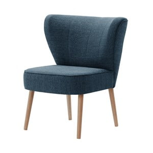 Granatowy fotel My Pop Design Adami