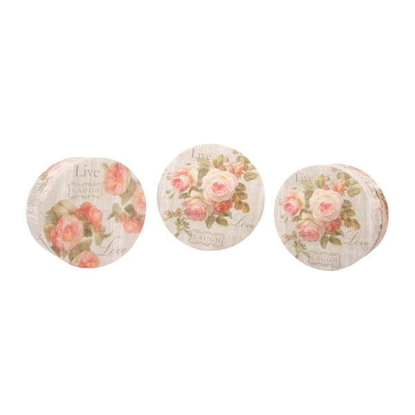 Zestaw 3 pudełek Love Roses
