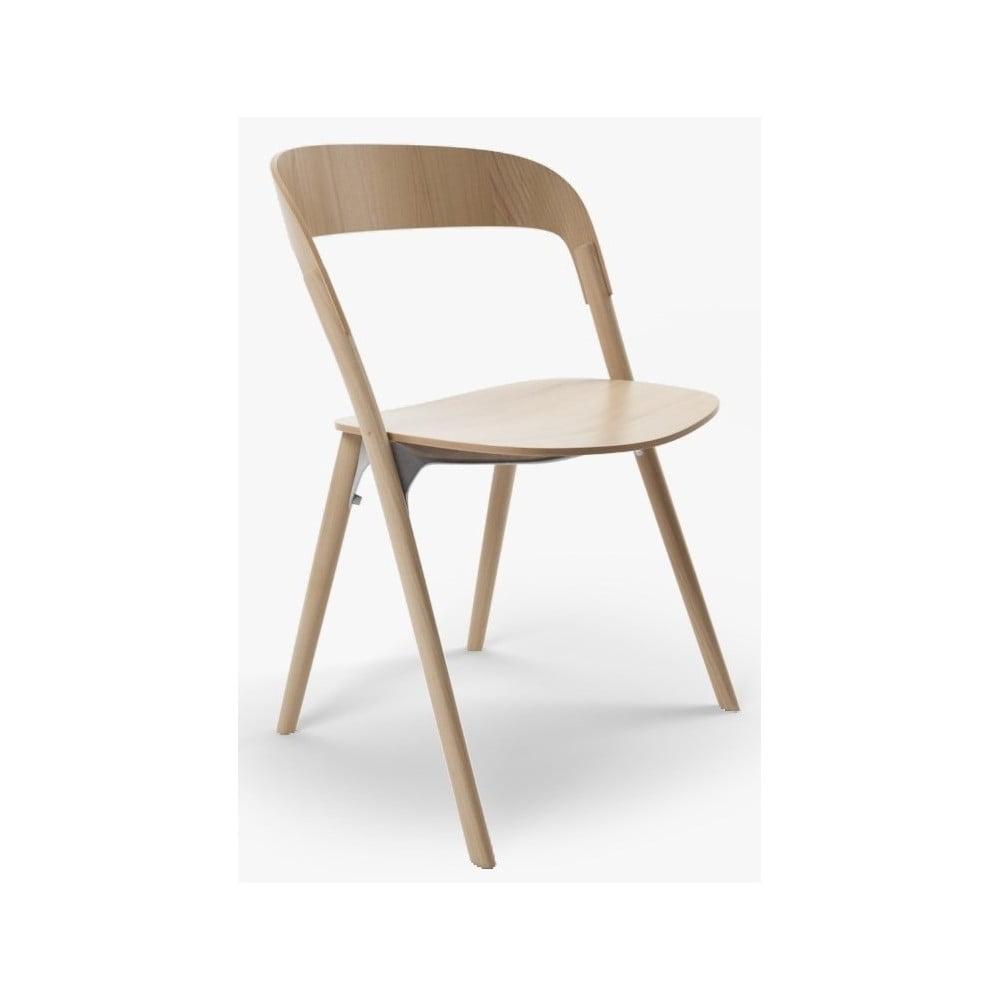 Krzesło z drewna jesionu Magis Pila