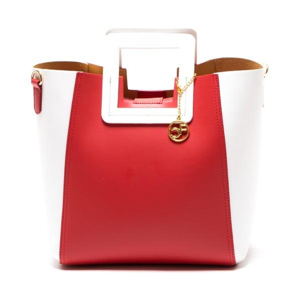Skórzana torebka Camoa, czerwona