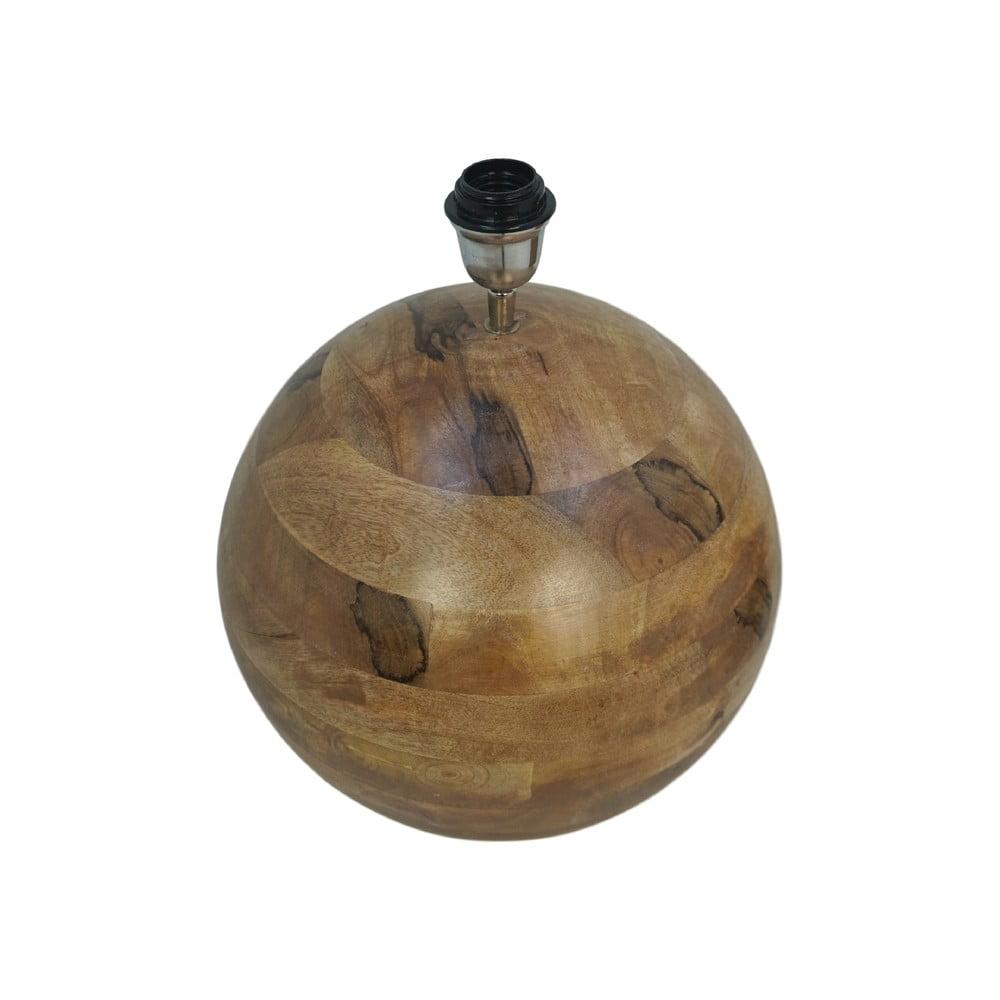 Drewniana lampa stołowa HMS collection Timber, ⌀ 40 cm