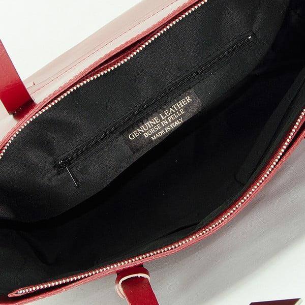 Bordowa torebka skórzana Giorgio Costa Gerogina