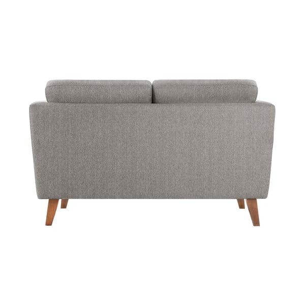 Szarobrązowa sofa dwuosobowa Jalouse Maison Elisa