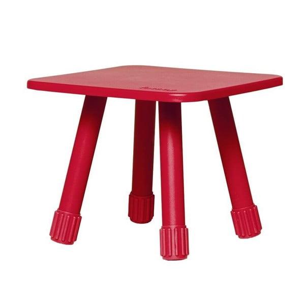 Wielofunkcyjny stolik Tablitski, Fatboy, czerwony