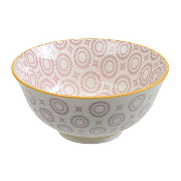 Porcelanowa miska Tayo Light Purple, 15,5x7 cm