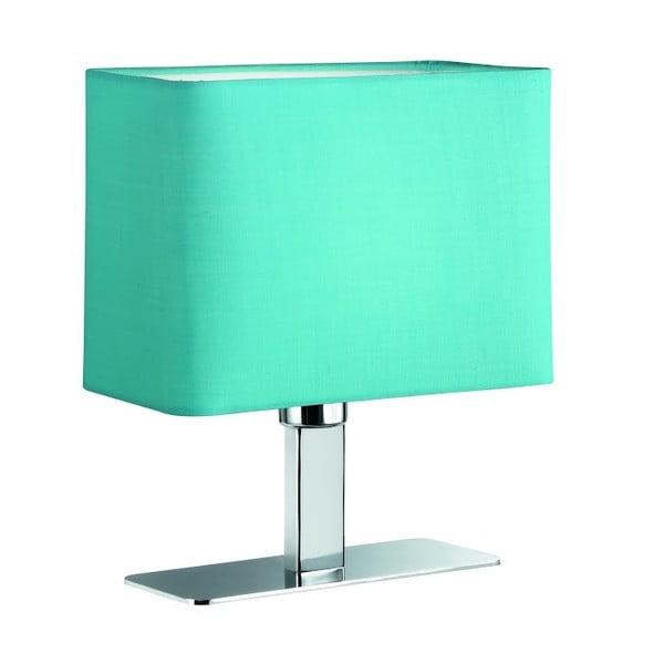 Lampa stołowa Ming, turkusowa
