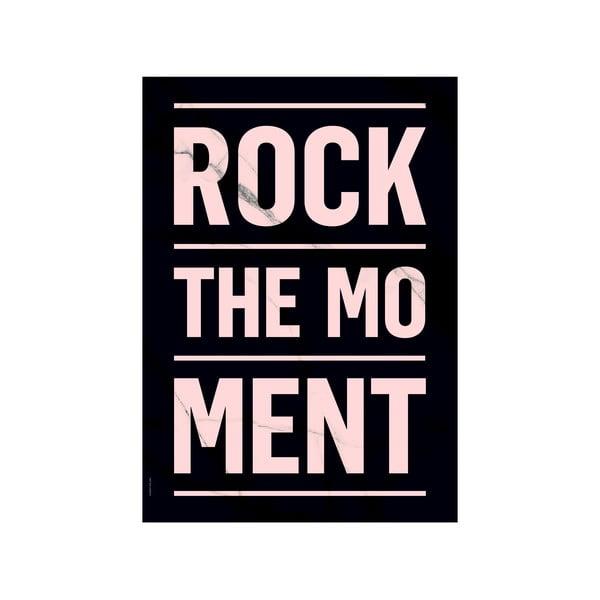 Plakat autorski Rock The Moment Dark, A3