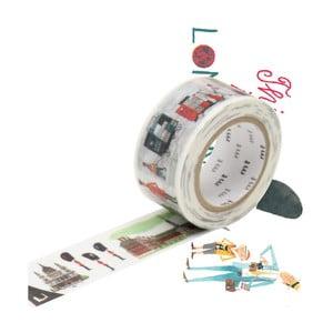 Taśma dekoracyjna washi MT Masking Tape London