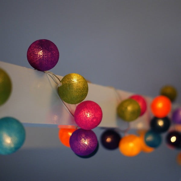 Girlanda świetlna Cherry Pop, 50 światełek