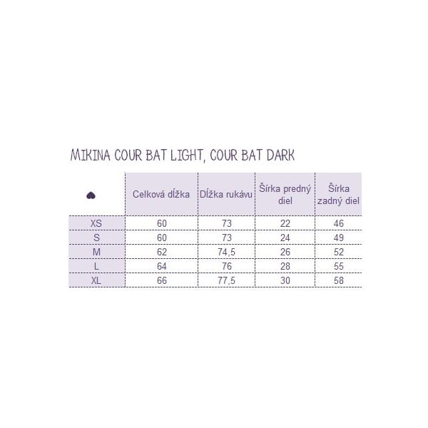 Bluza Cour Bat Dark, L