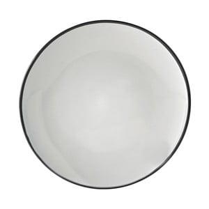 Czarny talerz Price & Kensington Cosmos, 26,5 cm