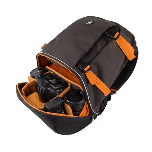 Dwukomorowy plecak fotograficzny Proper Roady, szary