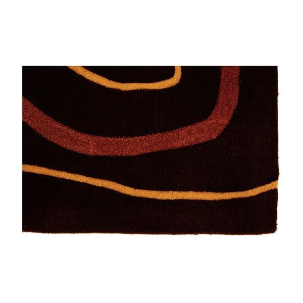 Dywan ręcznie tkany Phoenix, 140x200 cm, czekoladowy