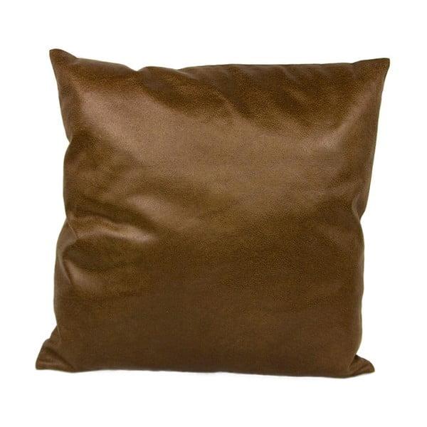 Poduszka z imitacji skóry, 50x50 cm