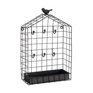 Wieszak na klucze Bird Cage, 19x8x31 cm