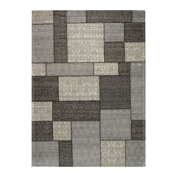 Dywan Patchwork 1 Dark Grey, 62x124 cm