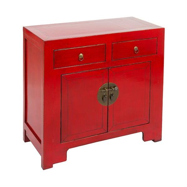 Czerwona mała komoda Santiago Pons Orient