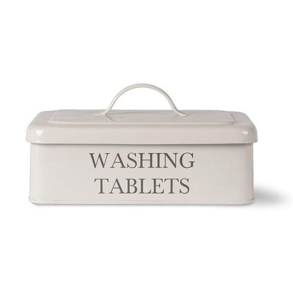 Pojemnik na kapsułki do prania Washing Tablet, biały