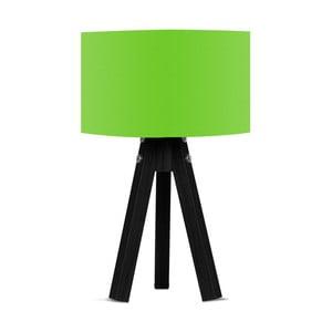 Lampa stołowa z zielonym abażurem Kate Louise Blackie