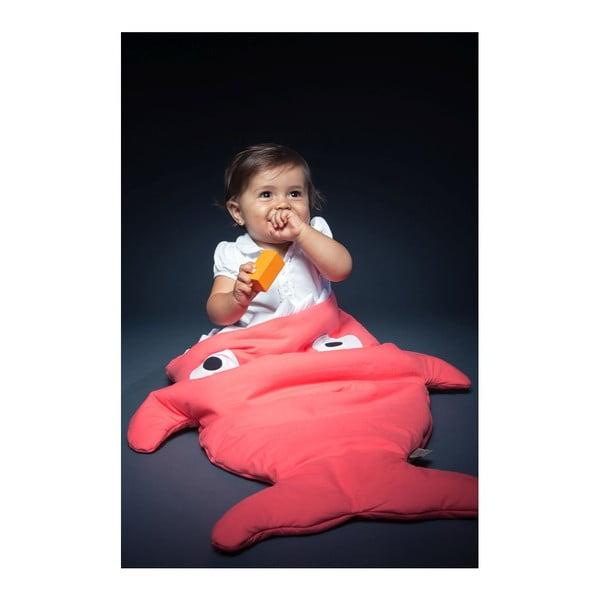 Śpiworek dla malucha Pink Fish with Pink Stars