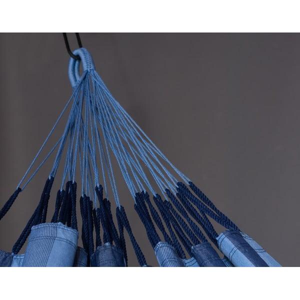 Hamak Aventura dwuosobowy, niebieski