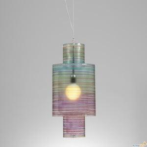 Lampa wisząca Nippon Emporium, kolorowa